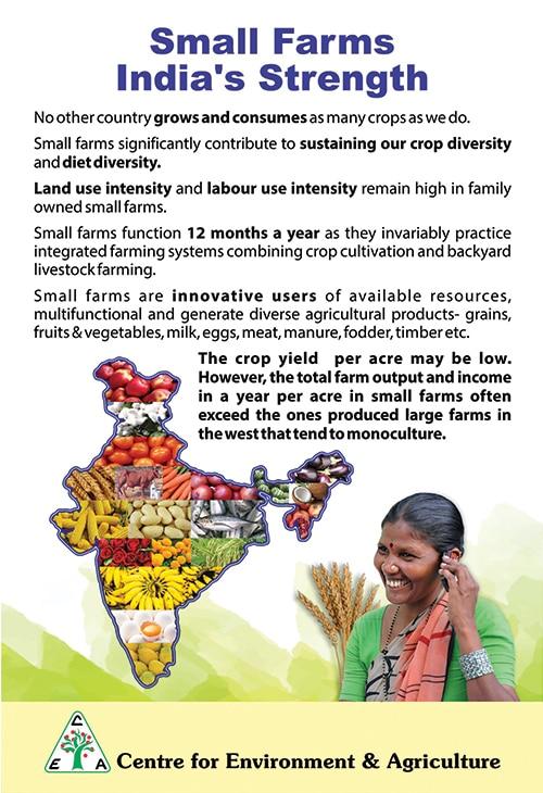 india's small farm poster